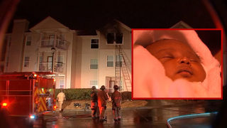 Family with newborn rushed to escape Cobb County fire