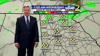 A few showers expected on your Wednesday morning commute