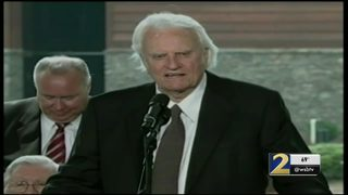 Charlotte mourns Billy Graham following his death