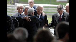 Former President Jimmy Carter releases statement on Billy Graham