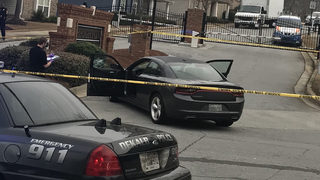 Man shot, killed in car in front of his children and wife