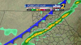 Chance for widespread rain increases this weekend