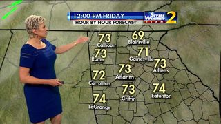 More record highs possible Friday
