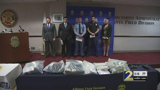 Traffic stop leads to 1 of the biggest drug busts in Georgia history