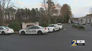 Body recovered from pond outside apartment complex