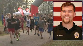 Community gathers for 5K race to benefit fallen officer