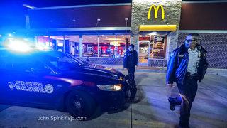 Armed robber crawls into Buckhead McDonald