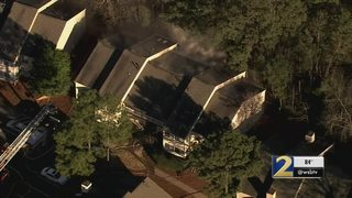 Eight families lose their homes following apartment fire