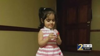 Family: 2-year-old dies after mirror falls on her