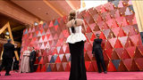 The red carpet of the 90th annual Academy Awards