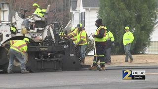 Transportation leaders fed up at paving project months behind schedule