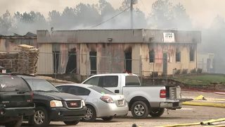 Business fire burns for more than 14 hours in Gainesville
