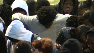 Loved ones remember high school football player killed in shooting