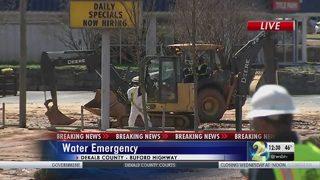 Boil water advisory in effect for all of DeKalb after major water main break