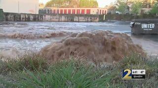 Buford highway reopens as crews continue to repair broken water main
