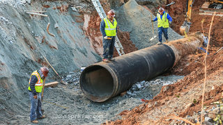 Repairs to DeKalb water main should be done by Friday night, county says