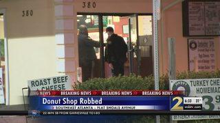 Donut shop robbed in Atlanta