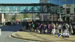 Students walk out as part of nationwide protest against gun violence