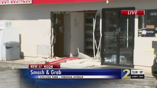 ATM stolen during smash-and-grab at gas station