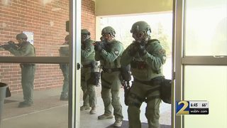 Local SWAT team says training must be as realistic as possible