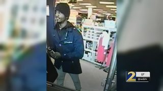 Police search for man they say intentionally started fire inside department store (VIDEO)