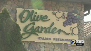 Olive Garden in DeKalb County fails health inspection