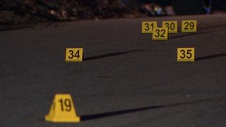 Shootout leaves child injured, more than 50 bullet casings in street