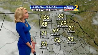 Mostly sunny skies for Sunday
