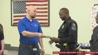 Companies step up to help officer who lost everything in fire