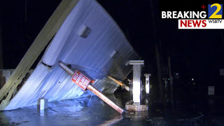 Severe storms tear through parts of north Georgia