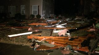PHOTOS: Severe storms move across Georgia