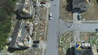 State officials estimate damage from Monday night