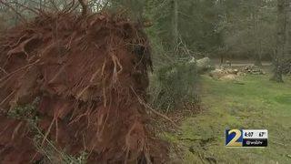 Thousands without power after storms rip through metro Atlanta
