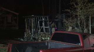 Man dies in fire in Carroll County
