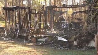 Man dies in fire in Carroll County