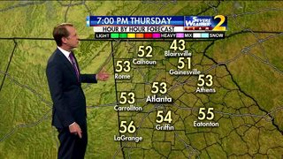 Clear skies, cool for your Thursday evening