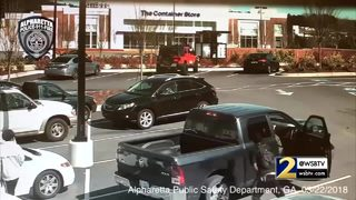 Police search for men involved in shootout at Chick-fil-A (VIDEO)