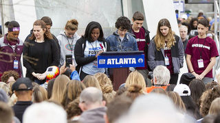 30,000 in Atlanta join millions across country in