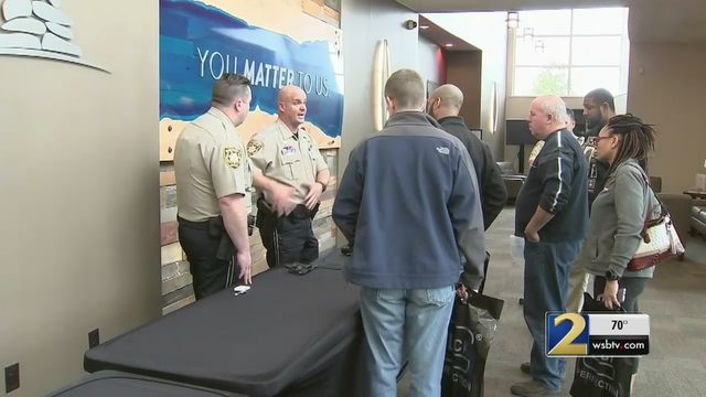 Local sheriff's office trains teachers to handle school