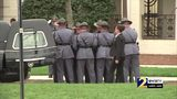 RAW VIDEO: Body of Zell Miller arrives at Buckhead church for his funeral service