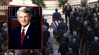 3 former presidents speak at former Gov. Zell Miller