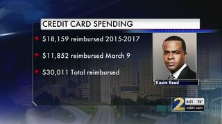 Investigation reveals former Atlanta mayor refunded thousands of dollars he spent on city card