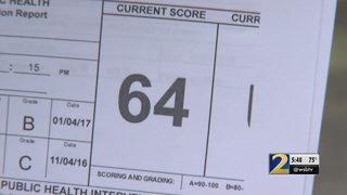 Mexican restaurant in Cobb County fails health score