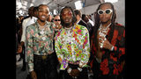 LOS ANGELES, CA - JUNE 25: Migos at the 2017 BET Awards at Staples Center on June 25, 2017 in Los Angeles, California. (Photo by Paras Griffin/Getty Images for BET)