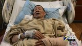 Man continues to recover after severe dog attack