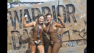 PHOTOS: Warrior Dash runners tackle fire, mud