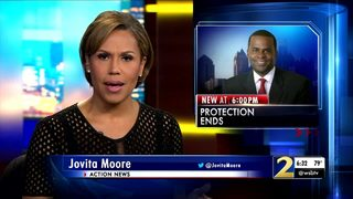 Executive protection for former Mayor Kasim Reed has ended