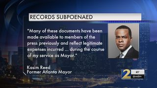 Former Mayor Kasim Reed promises to comply with federal subpoena in expense records