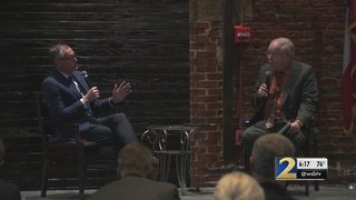 Gubernatorial candidates address business leaders about their plans for the future