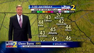 A cold start to your Friday